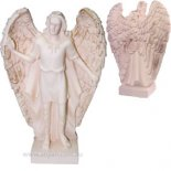 Archangel Raphael statue Archangel Raphael whose name means  God heals is charged with healing the earth and humankind Ivory finish made from stone and resin composite Comes . Please Click the image for more information.