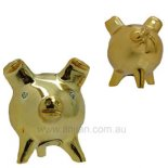 3 Legged Pig Statue, Chancitos  with crystal eyes 3 Legged Pig Statue Love  Good Luck Chancitos gold finish Please Click the image for more information.