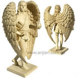 Uriel Archangel Statue, Antique Ivory, 200mm Archangel Uriel statueSalvation and Pure LoveUriels name means God is my light or Fire of God He is wide. Please Click the image for more information.