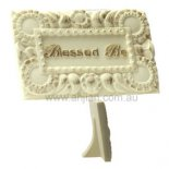 Blessed Be stand  Blessed Be stand heart felt greeting response or farewellThis stand can be placed in ones window or as a special gift In a  . Please Click the image for more information.