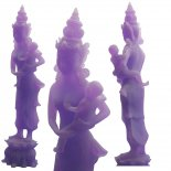 Mother and Child purple resin statue of a mother and child in the likeness of Quan YinLimited quantity Hand finished Please Click the image for more information.