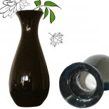 Black pear shape vase 241 Two of these vase for the price of one Made in resin and glossy black finish this vase is a classic designB. Please Click the image for more information.
