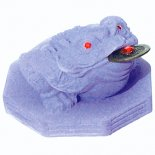 PURPLE MONEY FROG  Three Legged moon Frog represents wealth and health THE MOON  MONEY FROG OR TOADThe FrogToad is linked to the moon due to its transformation during phases of the moon They are. Please Click the image for more information.