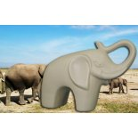 Standing Elephant statue Standing Elephant statue in smooth matt ceramicVery contemporary and a perfect colour for 2012 a great gift Please Click the image for more information.