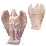Uriel figurine Uriels name means God is my light or Fire of God He is widely known as the Archangel of Repentance and SalvationComes with story and in gift box Please Click the image for more information.