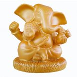 Orange Gold Ganesha statue Orange Gold Ganesha statueProsperity Success Safety  Remover of Obstacles  The Elephantheaded god Ganesha is known as the Remover of Obstacles and Lord of Beginnings As the god o. Please Click the image for more information.