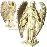 Gabriel Archangel Statue, Antique Ivory, 200mm Archangel Gabriel  statueGuidance  Humanity Birth and DreamsArchangel Gabriel means God is my Strength  Archangel. Please Click the image for more information.