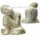 small resting Buddha 115mm Small resting Buddha statuepeaceful and relaxing to look at This statue has a most beautufl expression Ma. Please Click the image for more information.