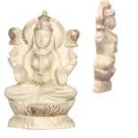 Lakshmi Goddess of Beauty and Wealth Lakshmi Goddess of Beauty and Wealth statue in ivory finishMade from crushed marble and resin Come sin a beautiful gift box with story. Please Click the image for more information.