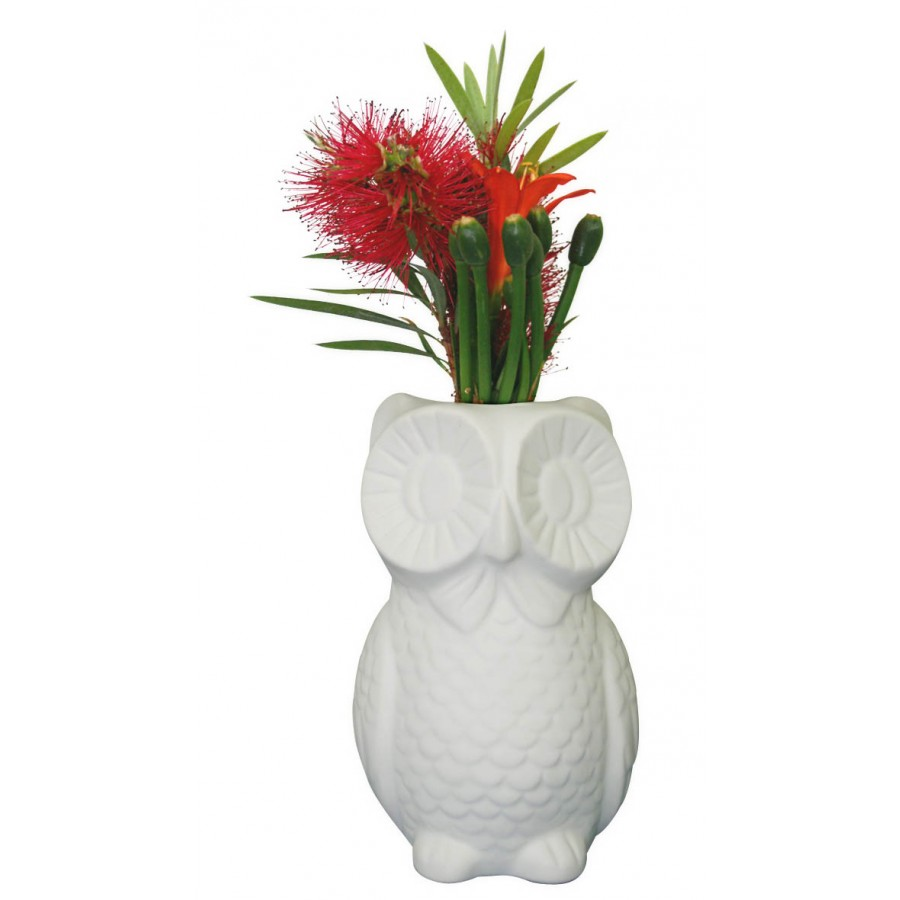 White owl vase white gifts of the world inspirational gifts click image to enlarge reviewsmspy
