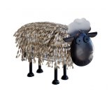 Sheep You probably cant get garden decor any cuter than this guy Sculpted from twisted metal strips with adjustable head our little sheep will be sure to pleaseHe . Please Click the image for more information.