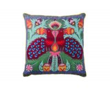 Pair of Peacocks Cushion - Grey / Multi Pair of Peacocks cushion Colourful embroided details on a grey background A stunning feature cushion that will add a vibrant pop of colour to your home. Please Click the image for more information.