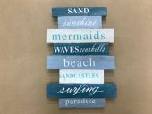 Large Sand Sunshine Block Sign  Please Click the image for more information.