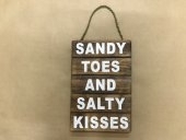 Small Sandy Toes Sign  Please Click the image for more information.