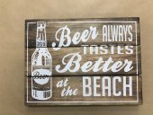 Beer Always Tastes Better Sign  Please Click the image for more information.