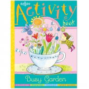 Eeboo Busy Garden Activity Book  SOLD OUT Romping through the garden has never been more fun Plant some flowers pick some apples gather some acorns Then visit Frog at the pond take a dance with Rabbit or just lie back and watch the clouds roll by A ve. Please Click the image for more information.