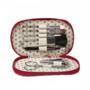 Willow and Finch Manicure Kit Waterlily Be fabulously stylish carrying around our designer 5 pc manicure kit Tools include tweezers cutical push nail file clippers and scissors Hand. Please Click the image for more information.