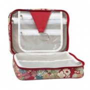 Willow and Finch Waterlilly Cosmetic Box Bag /Hange This super stylish waterproof cosmetic bag folds our to reveal a hanger for hanging on the back of a door and 2 large compartments that fit your hair products make up travel products etc Th. Please Click the image for more information.
