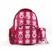 Penny Scallan Babushka Backpack Medium SOLD OUT The backpack has two front pockets a small zippered pocket on the side and a drink bottle holder It also has a matching bag tag with an area to write your name on the back M. Please Click the image for more information.