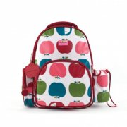Penny Scallan Juicy Apple Backpack Medium SOLD OUT The backpack has two front pockets a small zippered pocket on the side and a drink bottle holder It also has a matching bag tag with an area to write your name on the back M. Please Click the image for more information.