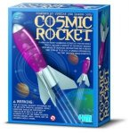 Cosmic Rocket SOLD OUT The Cosmic Rocket is a hands on science kit for the whole family Includes a booklet of fun rocket science with detailed launching instructions and a rocket that flies up to 50 feet . Please Click the image for more information.
