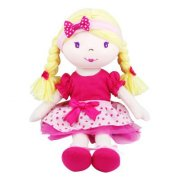 Pink Poppy Holly Doll SOLD OUT The Pink Poppy Rag Doll Holly is hand crafted from lovely soft cottons with a gorgeous little pink top and polka dot skirt. Please Click the image for more information.
