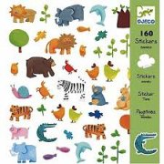 Djeco Animal Stickers SOLD OUT 160 coloured animal and plant stickers that can be used to decorate or create pictures  stick them everywhere Kids will have hours of fun creating animal stories and pictures with these super cute stickers A. Please Click the image for more information.