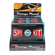 Spy Kit The ultimate espionage kit  with invisible pen and UV torch write the secret message with the pen and shine the torch to reveal the message and two decoder rings to send and decipher messages plus rearvision glasses Please Click the image for more information.