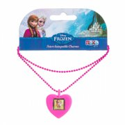 Frozen Anna Necklace Show the world you love Frozen with these interchangeable charm necklaces Collect swap and change the charms as you like Kids can collect the assorted charms featuring various Frozen characters then mix and match to create their own custom charm necklace Size. Please Click the image for more information.