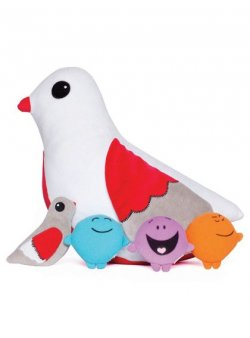 Lovey Dove Lovey Dove is sweet and nurturing and is always there to help smooth out a lumpy situation  If the Kimochis had one mum they could all share it would be Lovey  Lovey D. Please Click the image for more information.