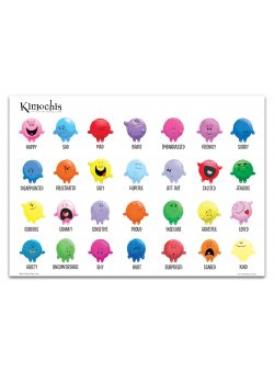 Kimochis Feelings Poster A poster consisting of 28 of the Kimochis Feelings Please Click the image for more information.