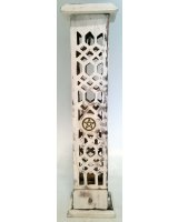 Top Loading Incense Tower - White-Washed Pentacle - $12.00 Top Loading Incense Tower  WhiteWashed Pentacle Please Click the image for more information.