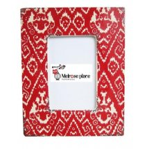 Red Pattern Ceramic Photo Frame 4 x 6  Please Click the image for more information.