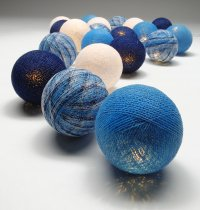 Blue Ball Fairy Lights The Fairy lights are warm LED  providing a beautiful warmtone light and consuming very little power making them a great sustainable decoration and giftPerf. Please Click the image for more information.