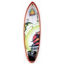 "Little buddha 6'3"" DESCRIPTIONOur modern fun board Slight tail rocker and tail outline has been pulled in and rounded Co. Please Click the image for more information."