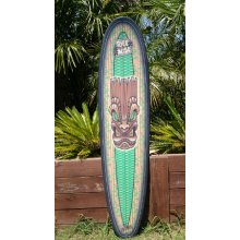 Big Z (with Freaki Tiki Print) The Big Z 78 lonboard thruster type fin boxesthis board came out of watching surfs up with my kidsits a fun high performance Longboard Great for th. Please Click the image for more information.