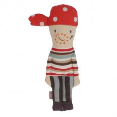 maileg pirate crew rattle Maileg pirate crew is dressed in stripy clothes and a red spotty headscarf  He has a scar on his face and stubble  Imaginative play can include our Maileg pirate ship pirate crew mermaid and shark  Ea. Please Click the image for more information.