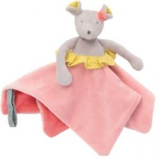 moulin roty Mademoiselle mouse comforter our Mademoiselle et Ribambelle Mouse is perfect as your childs first special possession Little mouse has a slender and delicate face W. Please Click the image for more information.