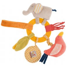 moulin roty les papoum elephant activity ring  moulin roty les papoum elephant activity ring comes with a set of textures and materials along with beautiful colourings. Please Click the image for more information.