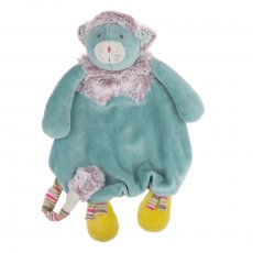 moulin roty les pachats blue catcomforter Doudou flat Chat turquoise velvet blue A pretty face fur few notes here and there the color just right a companion of every moment that baby can easily catch Pac. Please Click the image for more information.