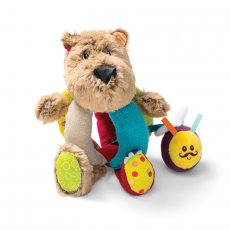 Lilliputiens cesar bear rattle with handle Grab Csar by one of his handles and gently shake to hear him jingle Make sure you dont annoy him too much or our bear might start to growl Loo. Please Click the image for more information.