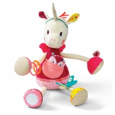 Lilliputiens louise activity unicorn  Its so much fun to play with Louise Listen when she nods her head and look for where the little owl is hidden B. Please Click the image for more information.