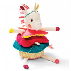 Lilliputiens louise pyramid unicorn  Oh Louise is all over the place Put all the different pieces back in the right order to put her back together Louise is stacker with a difference Su. Please Click the image for more information.