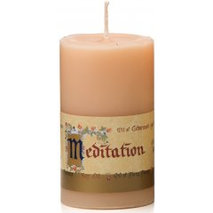 Meditation Candle, Small, 40 Hours, Australian Made - Blend of 12 Essential Oils Meditation Candle SmallH95cm W55cm  40 Hours Australian Made  Blend of 12 Essential Oils  Oil of Bergamot Patchouli Nutmeg Orange Ylang Ylang Cedarwood Lavender Balsam of Benzoin and Tolu Gum of Frankincense Bay Oil and Essence of OakmossThe fragrance is unfo. Please Click the image for more information.