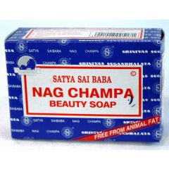 Nag Champa Beauty Soap - 75g, Satya Sai Baba, Made in India Nag Champa Beauty Soap  75g Satya Sai Baba Made in IndiaSoap is Free from animal fat has a great lather and softens the skinIt has. Please Click the image for more information.