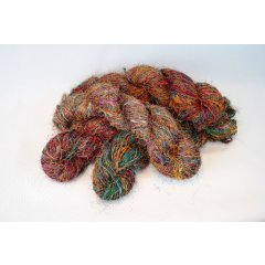 Raw Silk Yarn Multi-Coloured Skein,Handmade in Nepal Raw Silk MultiColoured Yarn Handmade in NepalApproximate weight of skein  210 gramsThis beautiful yarn offers a wide range of possibilities for the creative crafty and experimental Great fo. Please Click the image for more information.