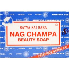 Nag Champa Beauty Soap, 150gm, Satya Saibaba, Made in India Nag Champa Beauty Soap  150gmThis soap is free from animal fat has a great lather and softens the skinIt h. Please Click the image for more information.