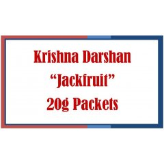 4 Packets x Jackfruit - Krishna Darshan Incense Sticks-20g each Tulsi Exclusives 4 Packets x Jackfruit  Krishna Darshan Incense Sticks20g each  Tulsi Exclusives A premium Masala incense packaged in loose sleeve 20g each  the scent is intoxicating and exotic and is reminiscent of Juicy Fruit Chewing Gum Scentsat. Please Click the image for more information.