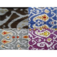 """SALE"" 100% Cotton Table Runner Quality Indian Ikat Batik Print Cotton Backing 1 100 Cotton Table Runner Quality Indian Ikat Batik Print Cotton Backing  100 x 30 cm  4 colours Quality 100 Cotton Table Runner with an Ikat Print on the top with a matching Cotton Fabric as backing and as a bias to finish the edgesSize. Please Click the image for more information."
