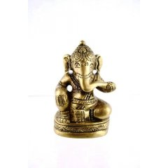Bronze Ganesha Statue Wisdom, Study, Knowledge, Wealth, Hinduism Ganesh Lost Wax Bronze Statue  65cm  200g  Made in IndiaThe son of Shiva and Parvati Ganesha has an elephantine countenance with a curved trunk and big ears and a huge potbellied body of a human being He is the . Please Click the image for more information.